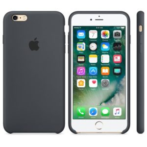 Чехол iPhone 6s Silicone Case Charcoal Gray - ТвойGadget