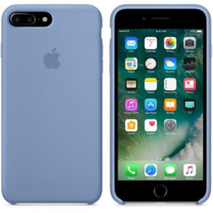 Чехол iPhone 8/7 Plus Silicone Case Azure - ТвойGadget