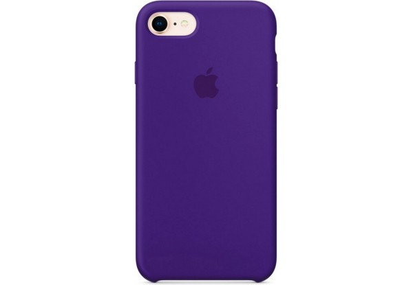 Чехол iPhone SE Silicone Case Ultra Violet - ТвойGadget