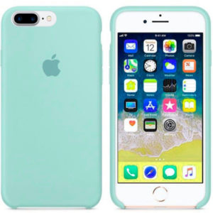 Чехол iPhone 8/7 Plus Silicone Case Marine Green - ТвойGadget