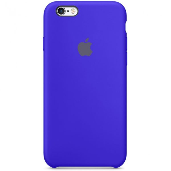 Чехол iPhone SE Silicone Case Ultramarine - ТвойGadget