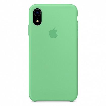 Чехол iPhone XR Silicone Case Spearmint - ТвойGadget