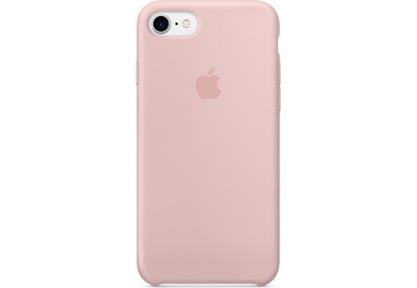 Чехол iPhone SE Silicone Case Light Pink - ТвойGadget