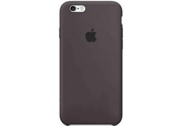Чехол iPhone SE Silicone Case Cocoa - ТвойGadget