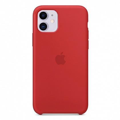 Чехол iPhone 11 Silicone Case (Product) Red - ТвойGadget