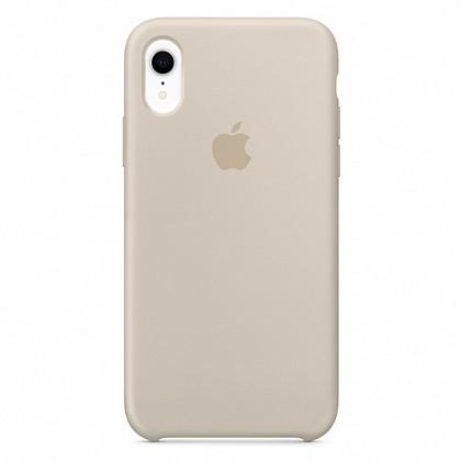 Чехол iPhone XR Silicone Case Stone - ТвойGadget
