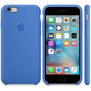 Чехол iPhone 6s Silicone Case Royal Blue - ТвойGadget