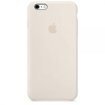 Чехол iPhone SE Silicone Case Antique White - ТвойGadget