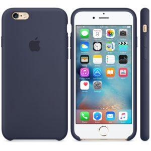 Чехол iPhone 6s Silicone Case Midnight Blue - ТвойGadget