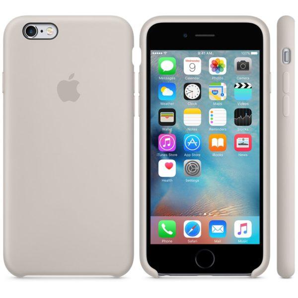 Чехол iPhone 6s Plus Silicone Case Stone - ТвойGadget