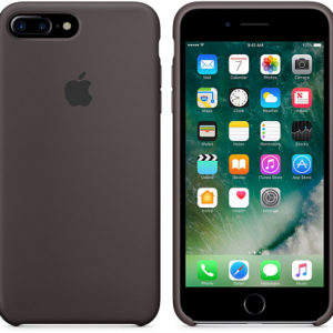 Чехол iPhone 8/7 Plus Silicone Case Cocoa - ТвойGadget