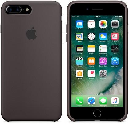 Чехол iPhone 8/7 Plus Silicone Case Cocoa - ТвойGadget