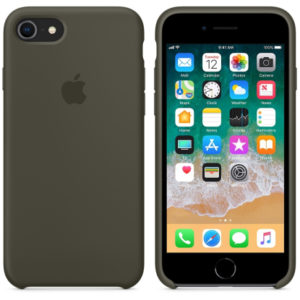 Чехол iPhone 8/7 Silicone Case Cocoa - ТвойGadget
