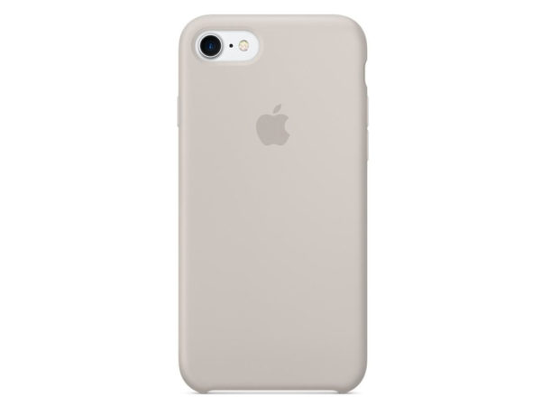 Чехол iPhone SE Silicone Case Stone - ТвойGadget