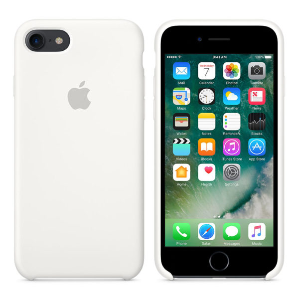 Чехол iPhone 6s Plus Silicone Case White - ТвойGadget