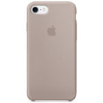 Чехол iPhone SE Silicone Case Purple - ТвойGadget