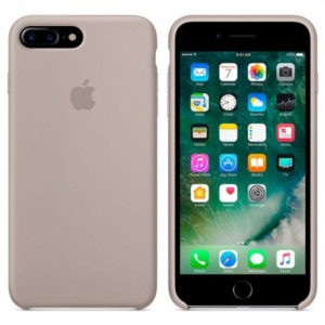 Чехол iPhone 8/7 Plus Silicone Case Pebble - ТвойGadget