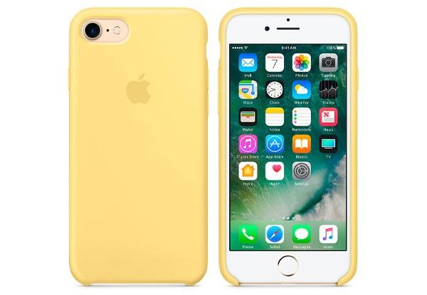 Чехол iPhone 8/7 Silicone Case Pollen - ТвойGadget