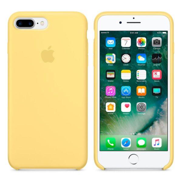 Чехол iPhone 8/7 Plus Silicone Case Pollen - ТвойGadget