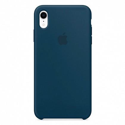 Чехол iPhone XR Silicone Case Pacific Green - ТвойGadget