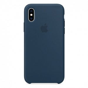 Чехол iPhone XS Silicone Case Pacific Green - ТвойGadget