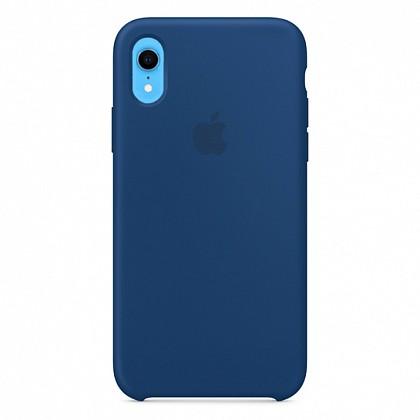 Чехол iPhone XR Silicone Case Blue Horizon - ТвойGadget
