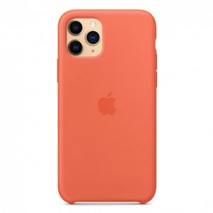 Чехол iPhone 11 Pro Silicone Case (Orange) Clementine - ТвойGadget