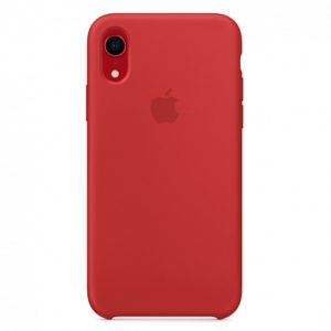 Чехол iPhone XR Silicone Case (Product) Red - ТвойGadget
