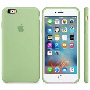 Чехол iPhone 6s Plus Silicone Case Mint Gum - ТвойGadget