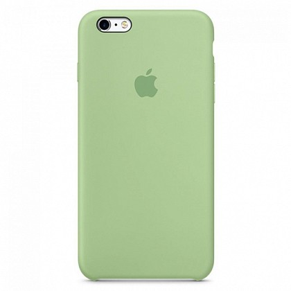 Чехол iPhone SE Silicone Case Mint Gum - ТвойGadget