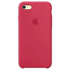 Чехол iPhone SE Silicone Case Rose Red - ТвойGadget