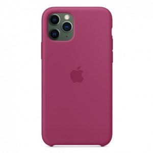 Чехол iPhone 11 Pro Silicone Case Pomegranate - ТвойGadget