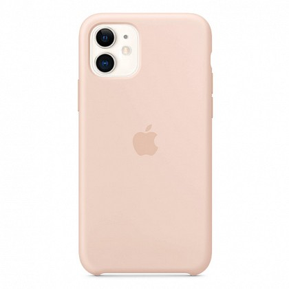 Чехол iPhone 11 Silicone Case Pink Sand - ТвойGadget