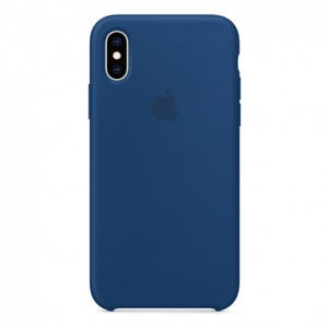 Чехол iPhone XS Silicone Case Blue Horizon - ТвойGadget