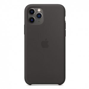 Чехол iPhone 11 Pro Silicone Case Black - ТвойGadget