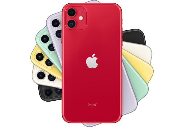 Apple iPhone 11 128Gb (PRODUCT)RED Dual Sim (MWN92) - ТвойGadget