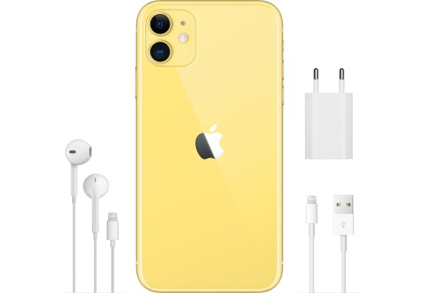 Apple iPhone 11 128GB Yellow (MWM42) - ТвойGadget
