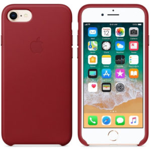 Чехол iPhone 8/7 Silicone Case (Product) Red - ТвойGadget