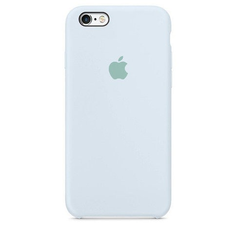 Чехол iPhone SE Silicone Case Sky Blue - ТвойGadget