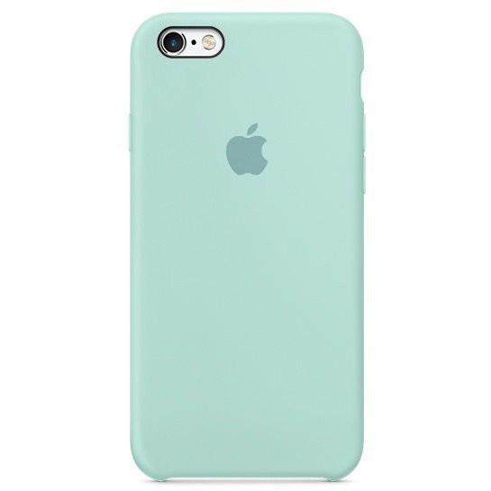 Чехол iPhone SE Silicone Case Marine Green - ТвойGadget