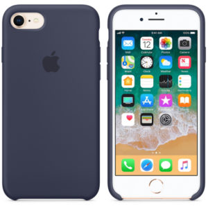 Чехол iPhone 8/7 Silicone Case Midnight Blue - ТвойGadget