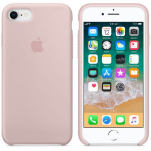 Чехол iPhone 8/7 Silicone Case Pink Sand - ТвойGadget