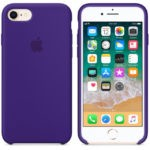 Чехол iPhone 8/7 Silicone Case White - ТвойGadget