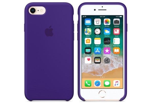 Чехол iPhone 8/7 Silicone Case Ultra Violet - ТвойGadget