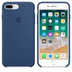 Чехол iPhone 8/7 Plus Silicone Case Peach - ТвойGadget