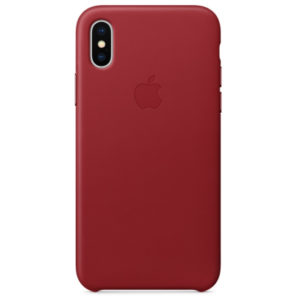 Чехол iPhone XS Silicone Case (Product) Red - ТвойGadget