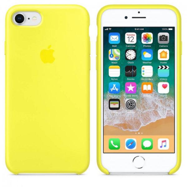 Чехол iPhone 8/7 Silicone Case Flash - ТвойGadget