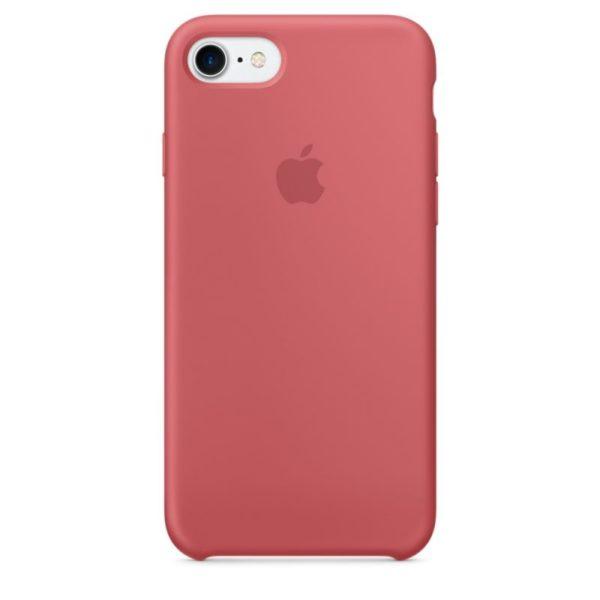 Чехол iPhone SE Silicone Case Camelia - ТвойGadget
