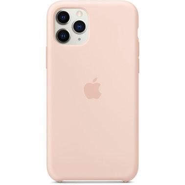 Чехол силиконовый оригинальный iPhone 11 Pro Max Silicone Case – Pink Sand (MWYY2) - ТвойGadget