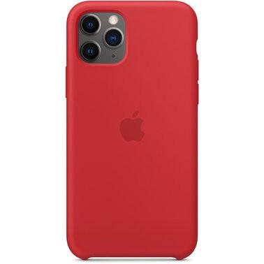 Чехол силиконовый оригинальный iPhone 11 Pro Max Silicone Case – Red (PRODUCT) (MWYV2) - ТвойGadget